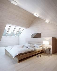 Lampen Für Dachschrägen : mansarde farblich gestalten ~ Michelbontemps.com Haus und Dekorationen