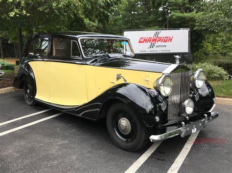 Rolls Royce Ebay by Rolls Royce Silver Wraith Ebay