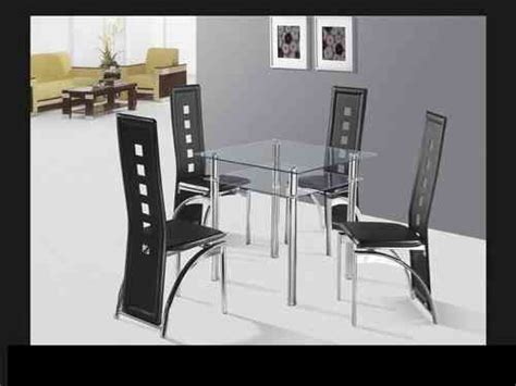 glass dining table and chairs glass dining sets homegenies