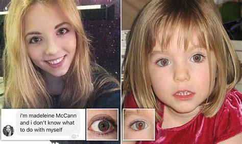 'I'm Madeleine McCann': Student makes strange claim