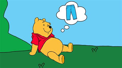Should Winnie The Pooh Be Wearing Pants?