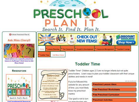 preschool lesson plans preschool themes amp more for 138 | toddler teacher websites 1