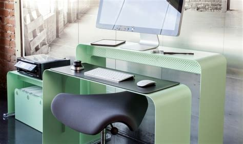 bureau ordinateur design meuble imprimante quelle solution choisir