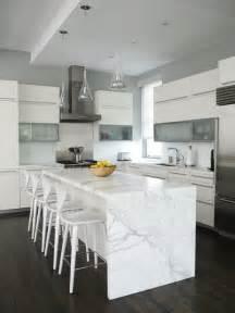 white marble kitchen island the granite gurus whiteout wednesday 5 white kitchens