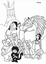 Indians Coloring Pages sketch template