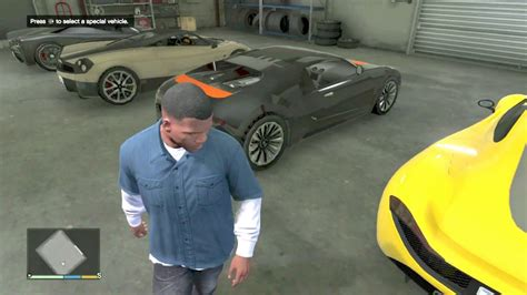 Gta 5 Garage Story Mode by My Gta V Story Mode Garage Added A New Car