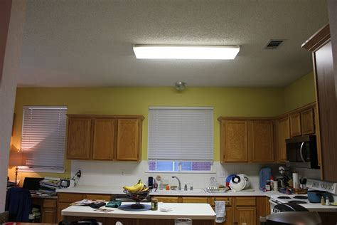 fluorescent kitchen ceiling light fixtures flush mount