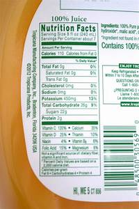 Tropicana Orange Juice Nutrition Facts – Nutrition Ftempo