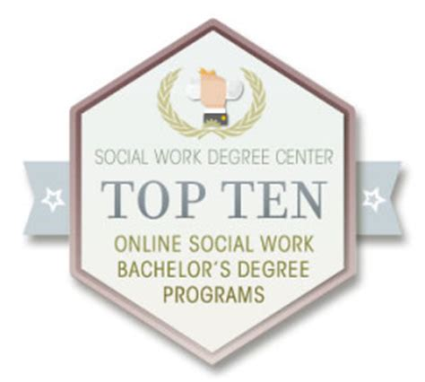 top   social work bachelors degree programs
