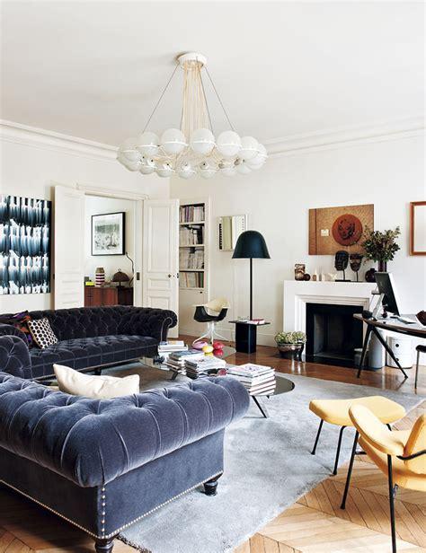 Chic Apartment in Paris by Sandra Benhamou  Wave Avenue