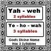 Een Naam voor een God #6 Hoeveel Lettergrepen | Free ...
