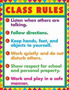 Middle School Classroom Rules Clipart (34+)