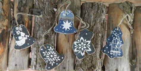 denim fabric craft ideas  creative christmas decorating