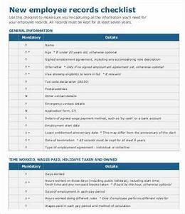 A List Of Strengths And Weakness Of A Person 16 New Employee Checklist Template Free Sample Example