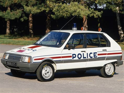 Citroën Visa French Police Vehicles