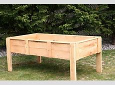 How To Build A Raised Garden Bed With Legs Raised Garden