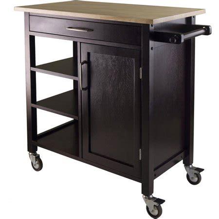 walmart kitchen cart wood mali kitchen cart two tone walmart