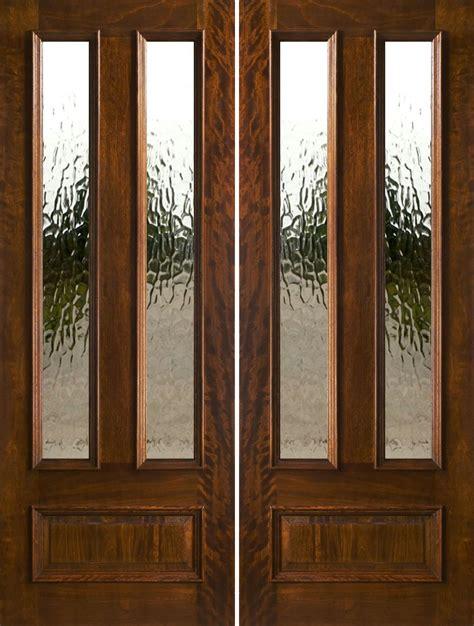 Exterior Double Doors  Solid Mahogany Double Doors 80