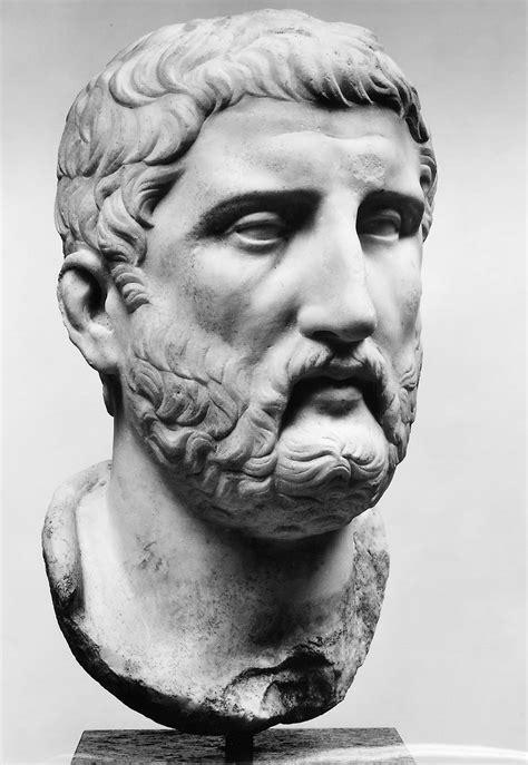 portrait   philosopher  democritus