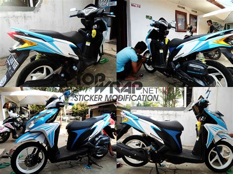 Cutting Sticker Vario by Contoh Gambar Modifikasi Motor Cutting Stiker Modif Sticker