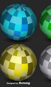 Abstract 3D Sphere Vectors - Download Free Vector Art ...