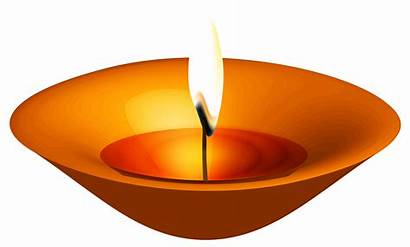 Diwali Candle Clipart Happy Clip Transparent Lamp