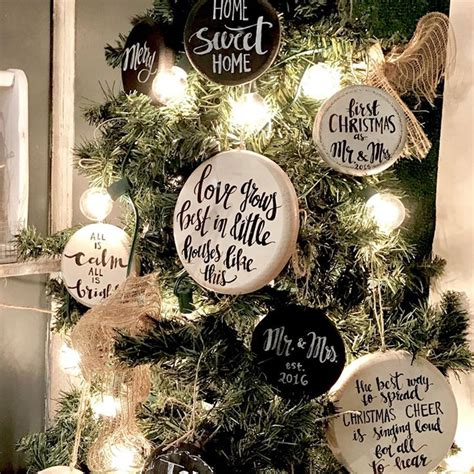 christmas tree decorationquotes farmhouse style easy rustic decor ideas craft mart