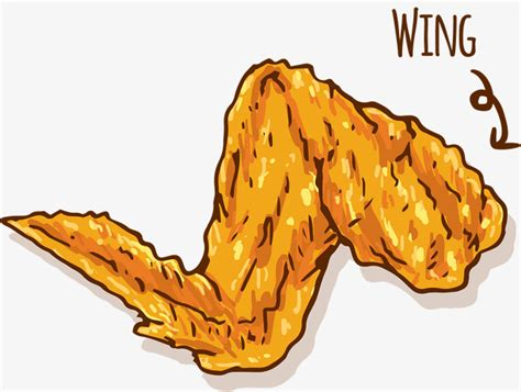 Chicken Wing Clipart