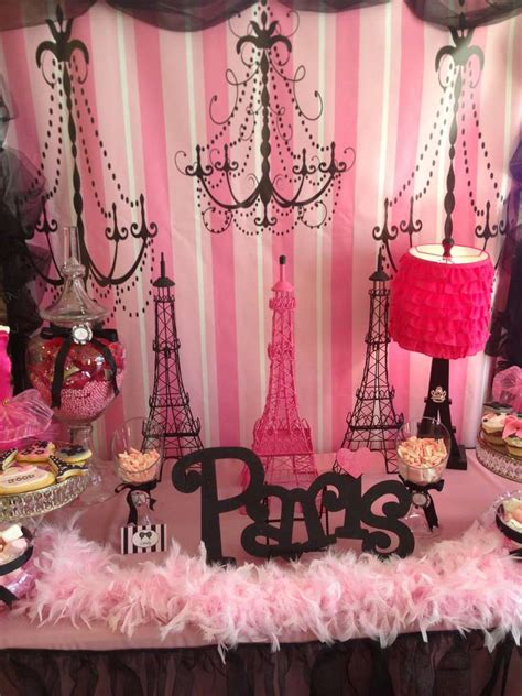 Paris Birthday Party Ideas  Photo 1 Of 20  Catch My Party