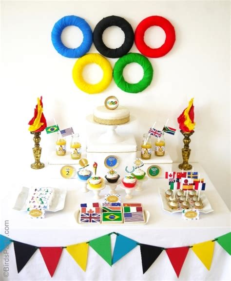Olympic Decorations, Olympic Theme Party