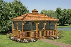 Wood Gazebo : Should You Use Wooden Gazebo Plans and Build