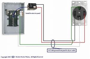 4 Wire 220 Dryer Schematic Diagram