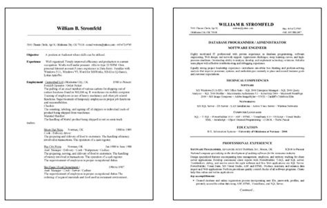 Database Administrator Resume Sles by Database Administration Resume Exle