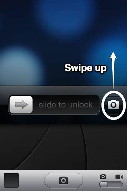 swipe up on iphone iphone 5 1 lock screen techyv