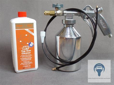 Diesel Russpartikelfilter Unwirksam by Diesel Partikelfilter Reiniger Dpf Druckspr 252 Hpistole Mit