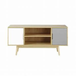 meuble tv maison du monde urbantrottcom With nice meuble tv maisons du monde 2 meuble tv vintage en bois gris l 150 cm artic maisons du
