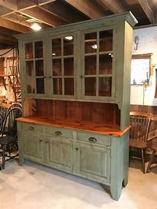 Rustic, Painted, Hutch