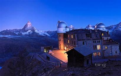 Switzerland Zermatt Hotel Kulm Matterhorn Observatory Weather