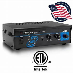 Pylehome - Pca4 - Home And Office - Amplifiers