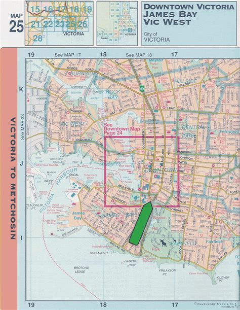 map  downtown victoria bc pictures  pin  pinterest