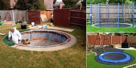 1000+ Ideas About Sunken Trampoline On Pinterest