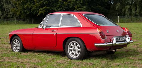in sheds mgb costello v8 moss motoring