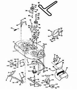 Mower Deck Diagram  U0026 Parts List For Model 917252590