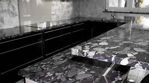 Plan De Travail En Granit Prix : prix d 39 un plan de travail co t moyen tarif d 39 installation ~ Louise-bijoux.com Idées de Décoration