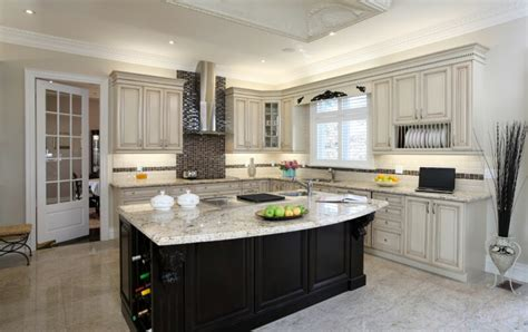 white kitchen cabinets black island 52 kitchens with wood or black kitchen cabinets 1792