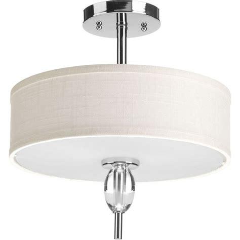 flush mount kitchen lighting progress lighting status collection 2 light polished 3495
