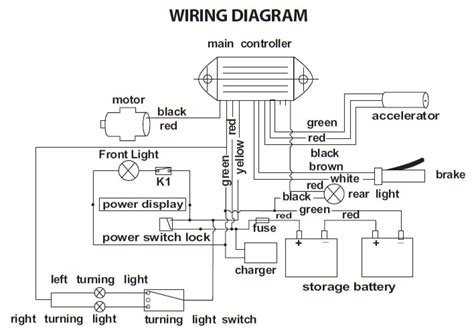 Go Go Scooter Wiring Diagram For by Freedom Scooter 644 Wiring Diagram Electricscooterparts