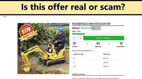 household mini excavator komatsu pc      scam  real offer youtube