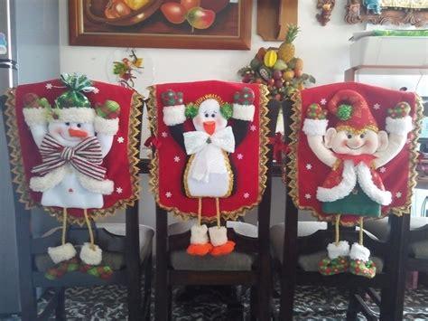 espaldares  sillas de comedor navidenos juego por