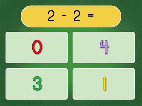 subtraction within 10 quiz education 536   subtraction quiz